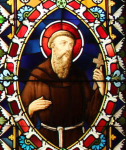 Saint F glass